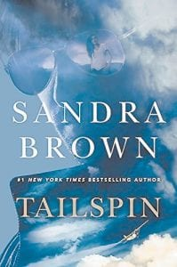 The jacket of author Sandra Brown's latest thrilling mystery, Tailspin, is seen in this image provided by the publisher.