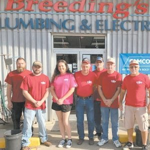 The friendly staff at Breeding's Plumbing & Electric of Isom are proud supporters and sponsors of the annual Isom Days Festival!