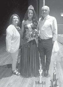 Delilah and Gerald Baker are pictured with their granddaughter, Emily Faith Baker.
