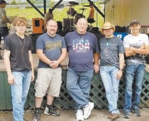 The Pure and Simple Band of Letcher County will open Saturday night show for former American Idol star Casey James, who will take the stage at around 9 p.m.