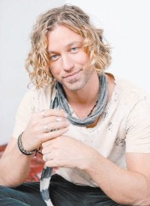 Casey James will be the festival's final act on Saturday.