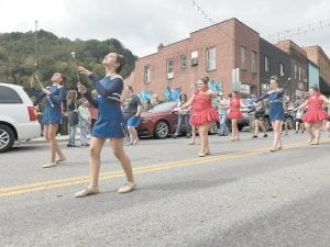 The Silver Spinners are always a parade favorite.