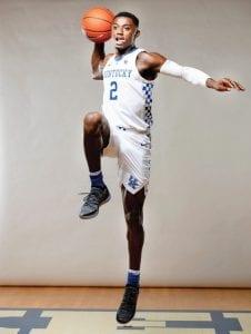 Ashton Hagans was the Gatorade Player of the Year and Georgia's Mr. Basketball last season. (UK Athletics photo)