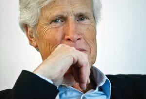 """Host Keith Morrison appears following an interview in New York to promote his NBC series """"Dateline."""" (AP Photo/Bebeto Matthews)"""