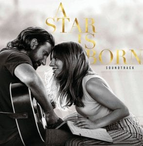 """This cover image shows the original motion picture soundtrack for """"A Star is Born,"""" featuring Bradley Cooper and Lady Gaga. (Interscope Records via AP)"""