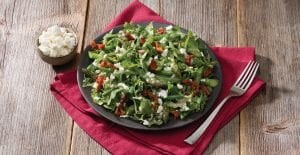 Green Bean, Asparagus and Goat Cheese Salad with Honey Dijon Vinaigrette