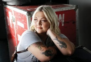 """Singer Elle King is promoting her new album, """"Shake The Spirit,"""" which went on sale late last week. (AP Photo/Mark Humphrey)"""