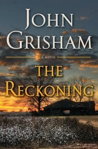 """This cover image released by Doubleday shows """"The Reckoning,"""" a novel by John Grisham."""