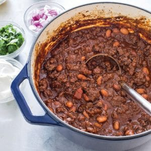 """This best ground beef chili is easy to make when you follow the this recipe, which is taken from the cookbook """"New Essentials."""" (America's Test Kitchen via AP)"""