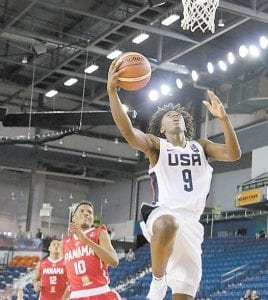 Kentucky commit Tyrese Maxey of Texas will play three games at Marshall County High School, December 28-29.