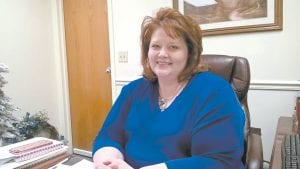 Denise Yonts is the new superintendent of the Letcher County School System. She replaces Tony Sergent, who retired after nearly 4-1/2 years on the job. (Photo by Sam Adams)