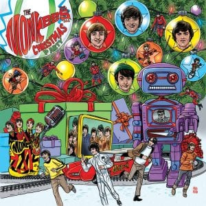 "This cover image released by Rhino Records shows ""Christmas Party"" by The Monkees. (Rhino Records via AP)"