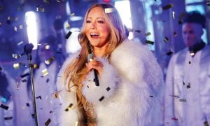 """Mariah Carey performed last year at the New Year's Eve celebration in New York. Her """"All I Want for Christmas Is You"""" is the highestcharting Billboard Hot 100 holiday hit in 60 years. (Invision/AP)"""