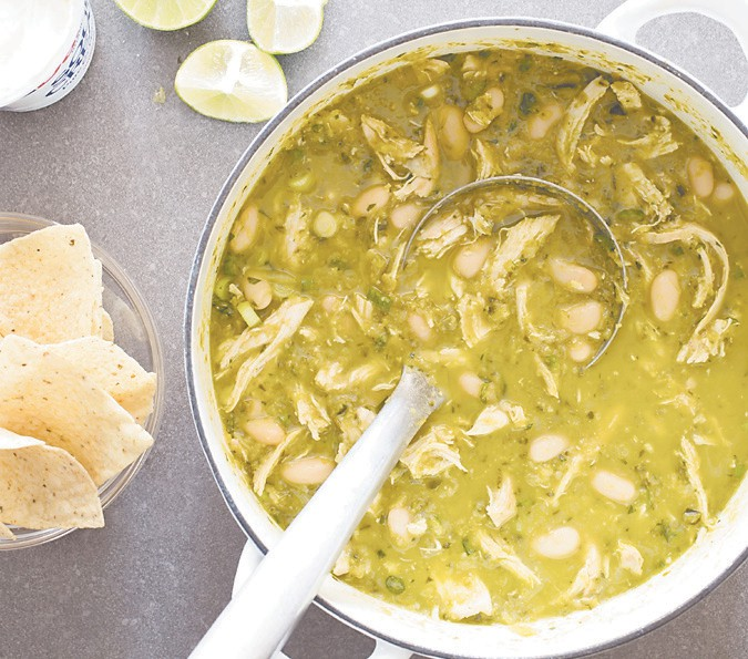White Chicken Chili Pops With Flavors