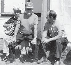 Coy Morton, Clyde Hatton and Charles Noble