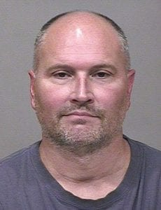 Rex Chapman as he appeared at the time of his arrest on theft charges related to his addiction to pain medicine.