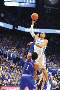 Sophomore P.J. Washington admits he gets lackadaisical at times and that makes coach John Calipari angry because he says Washington has the talent to be one of the nation's best players.