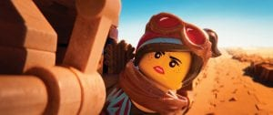 """This image released by Warner Bros. Pictures shows the character Lucy/Wyldstyle, voiced by Elizabeth Banks, in a scene from """"The Lego Movie 2: The Second Part."""""""