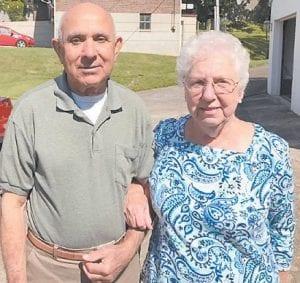 Betty Webb Pike and her husband Ed Pike
