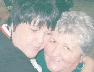 Brenda Thomas Richardson is pictured with her mom, Ann Thomas.