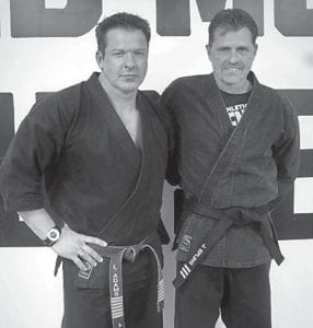 Larry Adams Martial Arts is very proud of longtime member John Epling (right) of Elkhorn City. Epling was promoted to third degree black belt on Feb. 1. He has been studying Kenpo Karate under Larry Adams for 14 years and throughout that time never failed to impress all of those around him with his dedication to his study of martial arts and his discipline in his practice of martial arts. He is the example of excellence and an asset to our organization and his community.