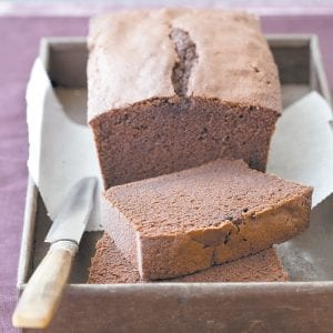 """The recipe for this Chocolate Pound Cake appears in the cookbook """"The Perfect Cake."""" (Joe Keller/ America's Test Kitchen via AP)"""
