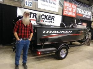"""Writer Greg """"Gabby"""" Caudill made a return trip to the outdoors show held yearly at the East KY Expo Center in Pikeville."""