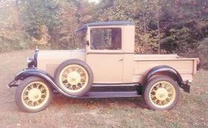 This 1929 Model A Ford was restored by Letcher County native Willis Sergent.