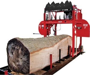 Pictured is a Hud-Son portable sawmill. Indictments naming Jason Griffie and Robert Leon Johnson make no mention of which model of sawmill was recovered from the Little Colley home where Johnson was staying at the time he and Griffie were arrested.
