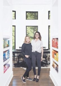 Joanna Teplin, left, and Clea Shearer of The Home Edit at the Nashville home of Shearer. The founders of the Nashville-based company, The Home Edit, do believe in streamlining your belongings to get organized, but say it isn't realistic to expect people to pitch most everything. (John Shearer/The Home Edit via AP)