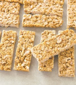 """These Crunchy Granola Bars were prepared from a recipe appearing in the cookbook """"The Perfect Cookie."""" (America's Test Kitchen via AP)"""
