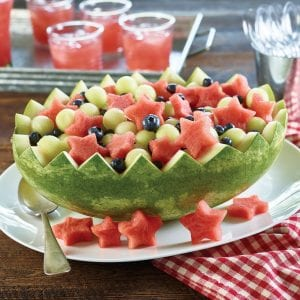 Patriotic Fruit Salad