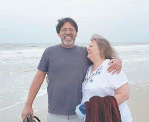 William Adams with his mom, Jeanette Sands Adams Dewitt.