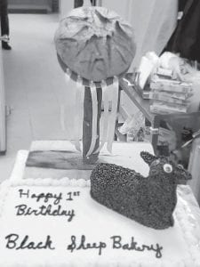 Black Sheep Bakery recently celebrated its first anniversary.