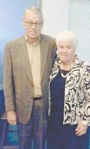 Jo Ella Taylor Sturgill and her husband Darrell Sturgill