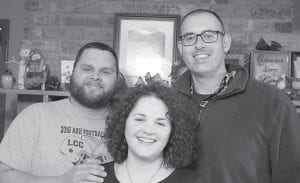 Blake Mason, Joy Hampton and Philip Marshall