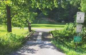 NEW BRIDGE NEEDED? The bridge at the entrance to Henry Ison Hollow on Cowan is set to be replaced by the state, but one family says the Commonwealth of Kentucky is being unreasonable in negotiations for the land.