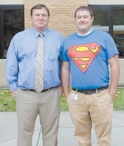 Joshua Yonts (aka Superman) with Tony Sergent