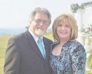 Pictured are James Earl Pennington and his wife Debbie Hansel Pennington.