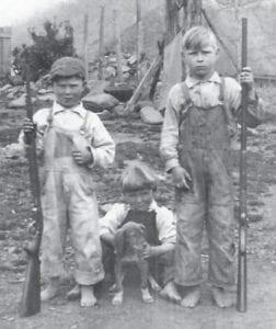 Left to right are Virdon Joseph Crisp, Sherill Crisp, and Staton Crisp.