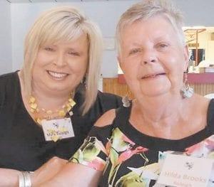 Hilda Brooks and daughter Myra