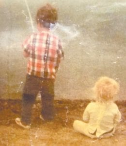 Jim and Jodi McAuley Back are pictured on one of their early fishing trips.