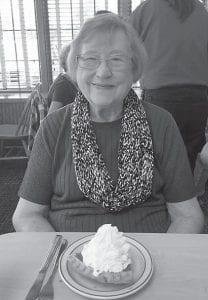 Southern Ohio correspondent Rose Ballard sends a belated happy birthday to Ann Calihan.