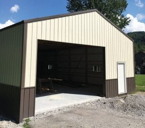 BMC Construction now specializes in post-frame metal buildings!