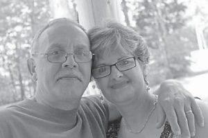 Ricky Mason with Charlene Tacket Mason