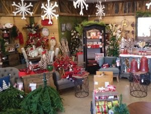 A pop-up Christmas store, we think a first for Whitesburg and Letcher County, is filled with decorations. The Home for the Holiday store is located at Pine Mountain Junction. (Photo by Sam Adams)