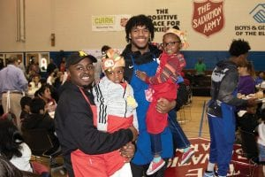 Keion Brooks Jr. is not playing as well as he wants. However, he understands he's a role model for youngsters across the state and enjoyed serving Thanksgiving dinner at the Salvation Army. (UK Athletics)