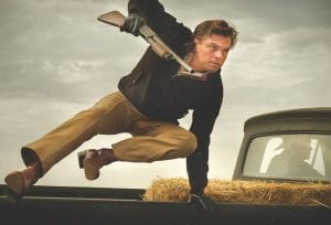 """This image released by Sony Pictures shows Leonardo DiCaprio in Quentin Tarantino's """"Once Upon a Time ... in Hollywood."""""""