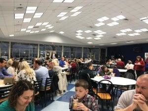 Letcher County's distinguished students and their parents were honored Monday with a breakfast at Letcher County Central High School.