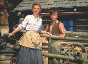 "Dorothy McGuire, left, and Tommy Kirk are shown in a scene from the 1957 classic ""Old Yeller."" The film is among 25 added to the National Film Registry of the Library of Congress. (Disney via AP)"